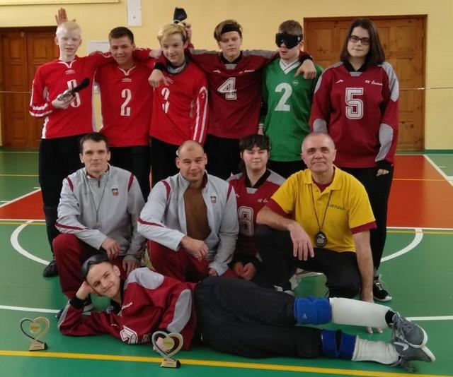 Latvijas golbola komanda