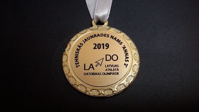Olimpiādes piemiņas medaļa