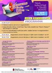 Pasākuma programma
